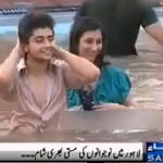 Mud Festival In Lahore - Just some Boys & Girls Chilling out
