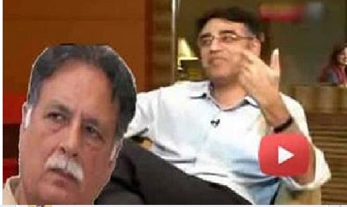 Asad Umar Shut The Mouth of Pervaiz Rasheed