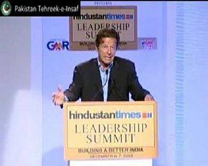Imran Khan Full Speech At HT Leadership Conference On India & Pak Relations
