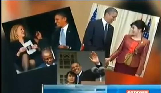 Brack Obama is Flirting