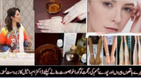 hand and face beauty